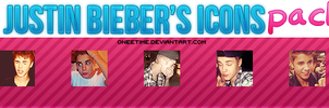 5 justin bieber's icons {gif} by oneetime