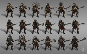 Goatmen iterations by Earl-Graey