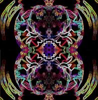 Psychedelic Electric Patterns by worksteady
