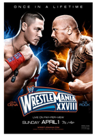 WWE Wrestlemania 28 Poster HQ by windows8osx