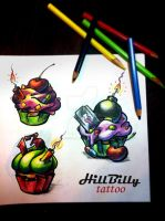 my tattoo flash by Meridional-HillBilly