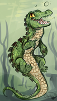 Crocigator by sharkie19