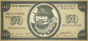 Stan Bucks by NerdyGeekyDweeb