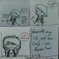 My loneliness is too much XD by ShadowCreepyTMNT