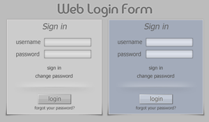 Login Form by NayaDesigns