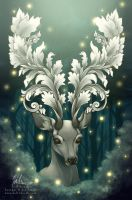 Antlers of Filigree by helloheath