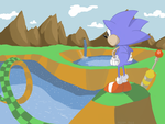 Green Hill Zone by NeonBee