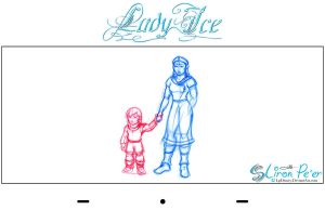 Lady Ice - Mom n Sen Rough1 by LPDisney