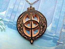 CHALICE WELL PENDANT by MassoGeppetto