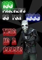 100 Pageviews by FireOps