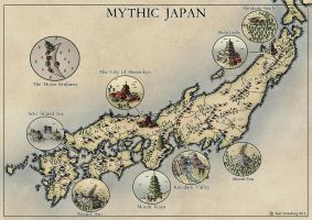 Mythic Japan 2016 by Traditionalmaps