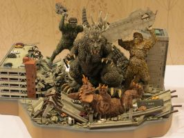 My Favorite Diorama at G-Fest by Legrandzilla