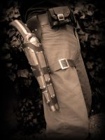 gun holster by Artifice-Jack