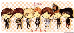 u-kiss doradora chibi by Renue