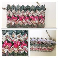 Floral wreathed bag by NinaAura