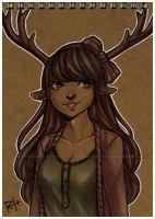 forest child - notebook by pencil-butter