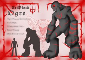 CR - ARTBLOCK OGRE by crimson-grizzly