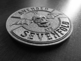 A7X: Hail to the King | Deathbat Coin by BetweenTheTeardrops