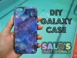 DIY galaxy case tutorial by Saloscraftshop