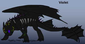 Violet (Seductive Poison) with Bio and Description by Volt-The-Nightfury