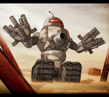 Destroyer by Sarcix82