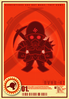 Nazi Revolution Robots Series by VectorIce