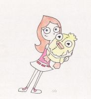 candace and ducky momo by Spongebobluvr66