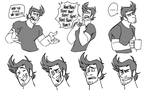 Markiplier - CartoonCharacter Doodles by cartoonjunkie