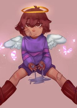 frisk the human cupidotale by gatoSsalvaje