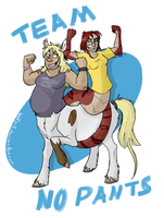 Team No Pants by Wolfy-T