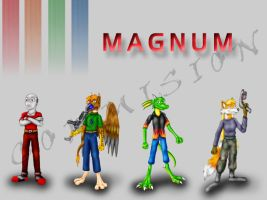 Magnum Group - commission by hunterbahamut