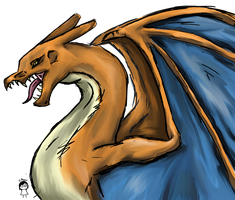 Charizard by AzuraJae