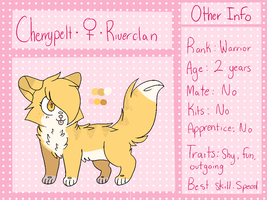 Cherrypelt Reference Sheet by swaeters