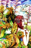 Acantha and the Acanthus by lilitus