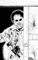 LEATHERFACE Commission by MikeWolfer
