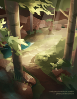 85 Fable Forest by JillLenaD