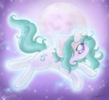 Moonlight Ghosty by SpectralPony
