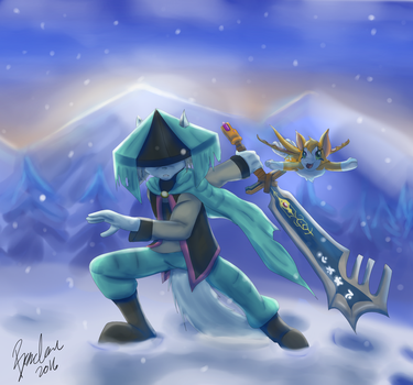 The Mountains of Blackmoor by TheBMeister