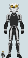 Toku sprite - Fifteen (Base suit) by Malunis