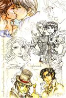 Clockwork Prince Sketches by angel-gidget