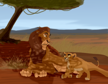 Zira's Grandfather by Mayshha