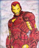 Iron Man by blessyo4