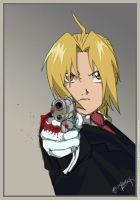 Edward Elric by yamirabbit