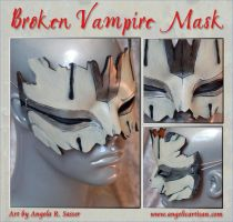 Larva's Broken Mask by Angelic-Artisan