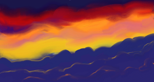 Clouds Sunset by katiejo911