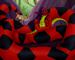Snake Massage by SpiderMilkshake