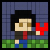 pixelated me...yay by TorenoWorks