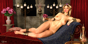 Odalisque by Nathanomir