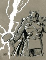 Thor, god of thunder by SethWolfshorndl