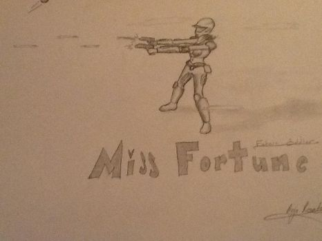 Future Soldier Miss Fortune by EnzoRosato
